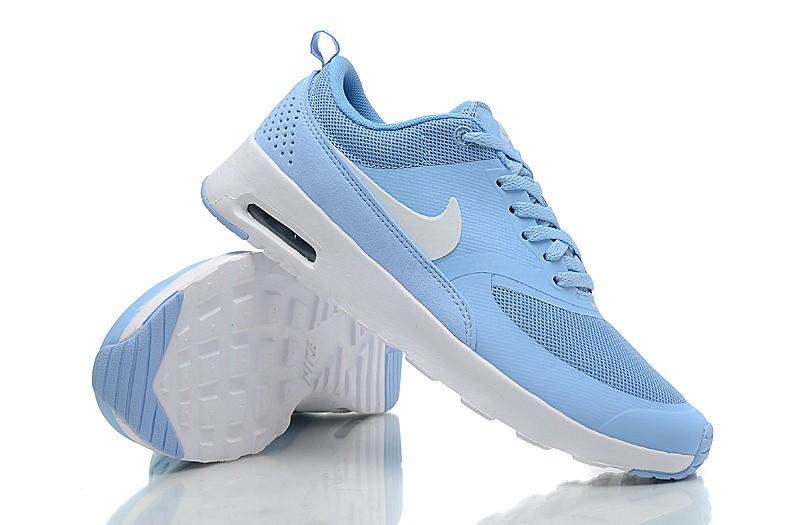 air max thea blanche et bleu