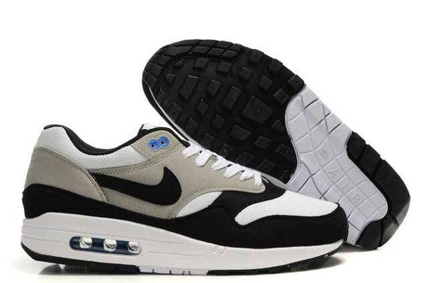 Nike Air Max 1 Blanc Gris Leopard Homme