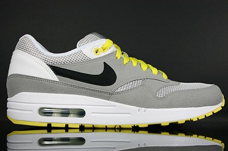 air max 1 essential gris jaune
