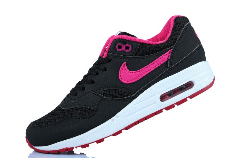 nike air max rose et noir et blanc nouveau magasin de la balance. Black Bedroom Furniture Sets. Home Design Ideas