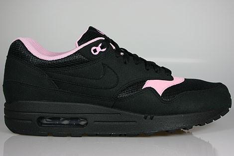 air max 1 noir et rose femme