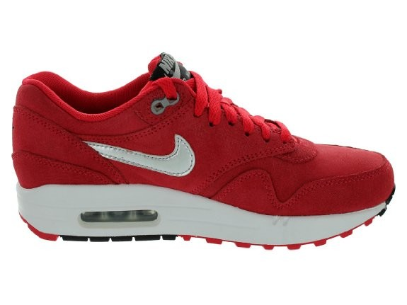 dames nike air max 1 rood