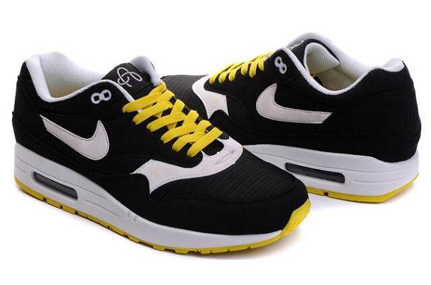 air max noire jaune