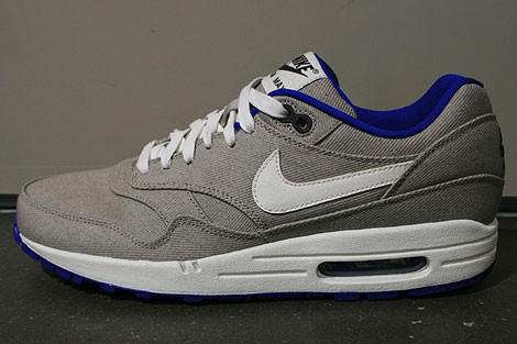 air max 1 gris bleu