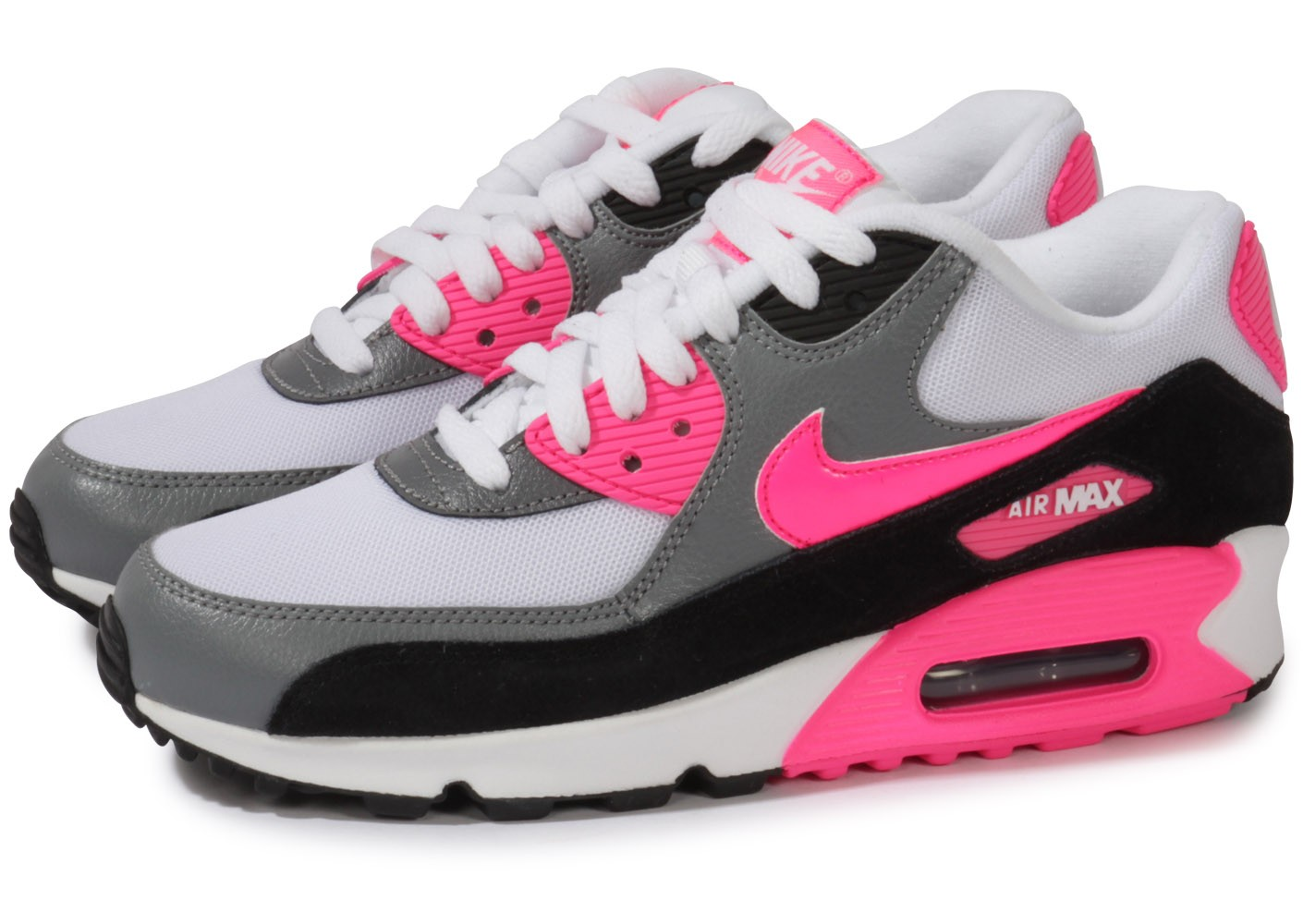 Nike Air Max 90 Femme Noir Et Rose