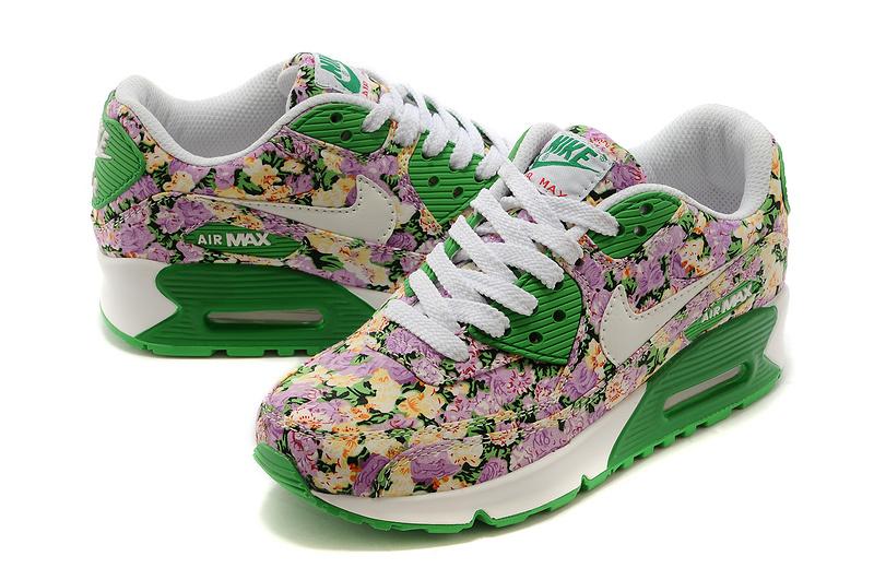 femmes nike floral air max 90 fleur de jasmin