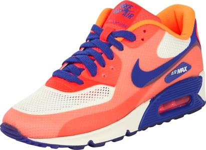 Nike Air Max Blanc Bleu Orange