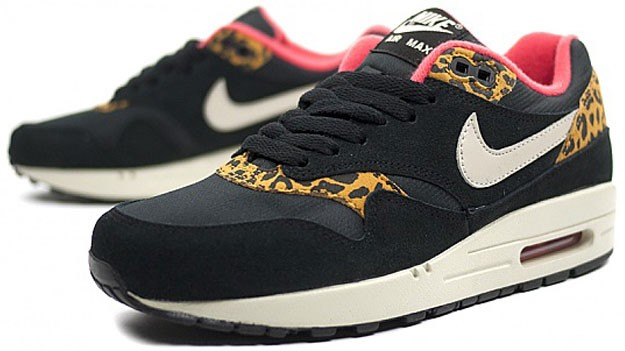 Nike Air Max Noir Rose Leopard
