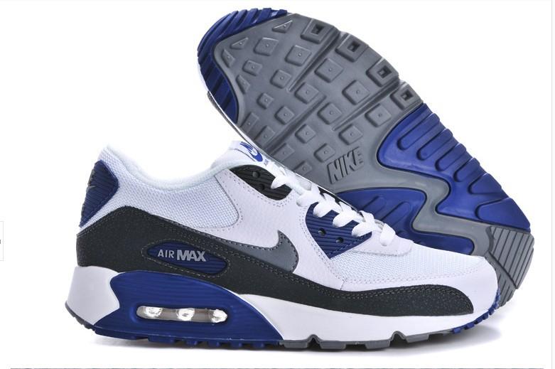 nike air max 90 blanche bleu
