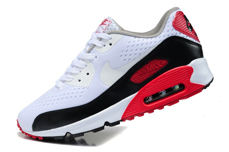 Air Max 90 Blanche Et Rouge