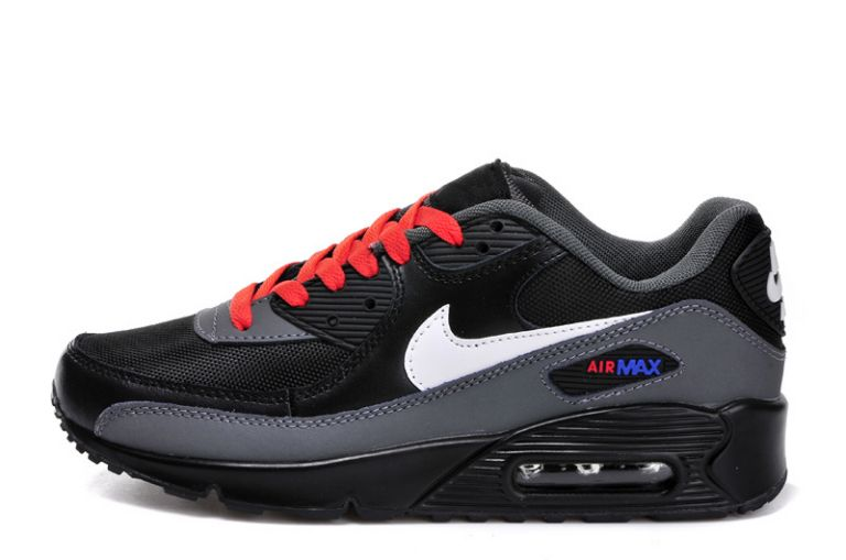 air max 90 blanc rouge noir