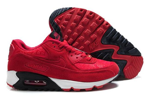 tomi affameur - nike air max rouge daim