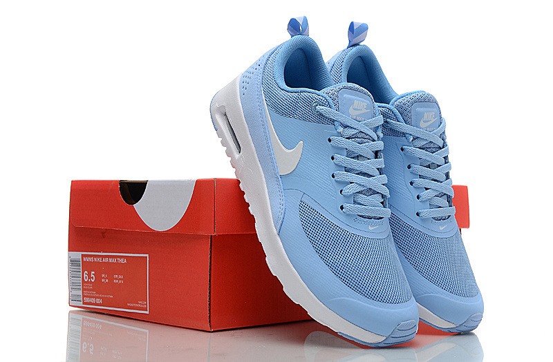 nike air max thea blanche et rose