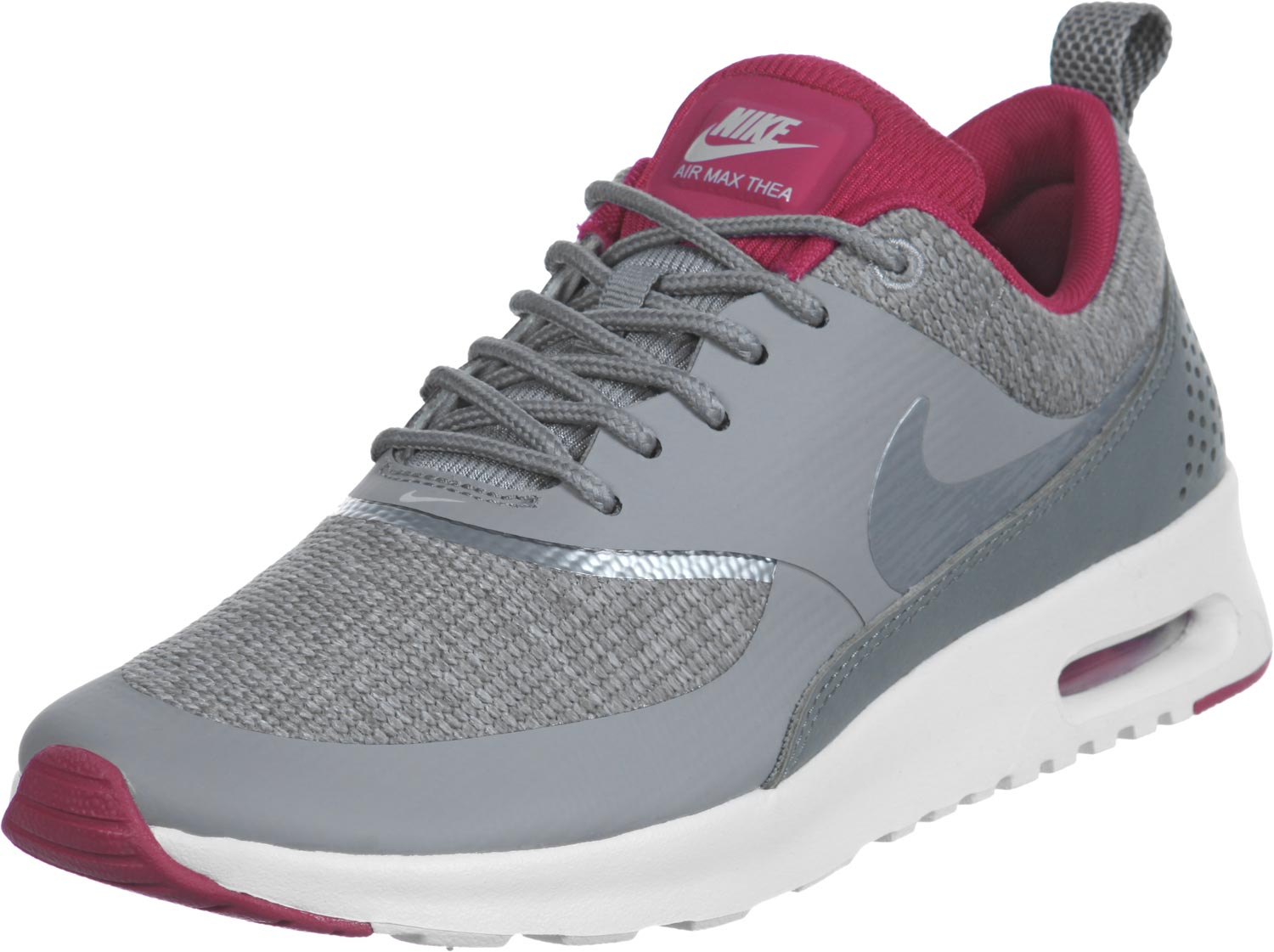 nike air max thea grise et rouge