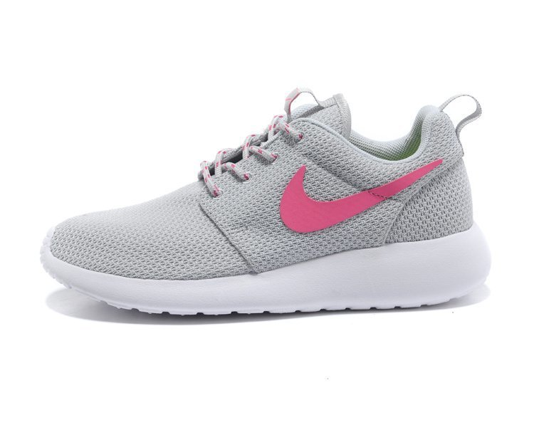 roshe run rose et grise