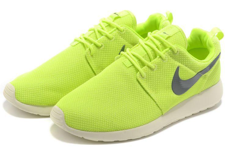 Nike Roshe Run Homme Fluo