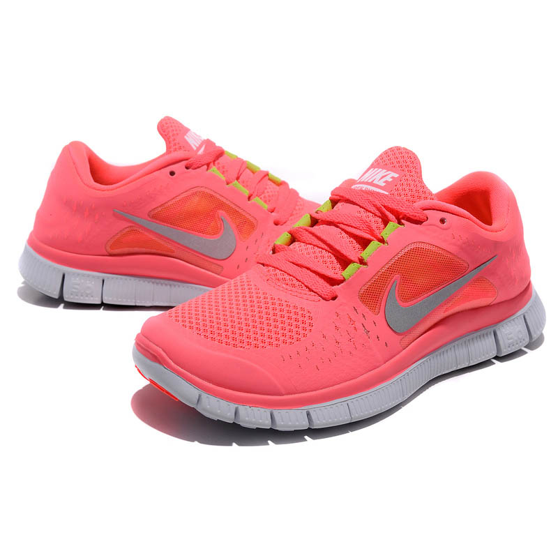 super popular d4702 e916e ... nike free run 3 rose gris . ...