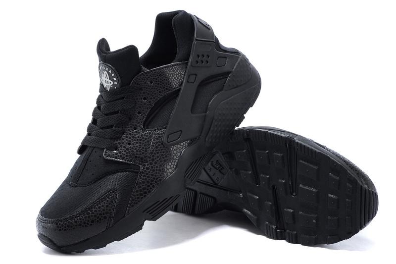 Nike Air Huarache chaussures noir