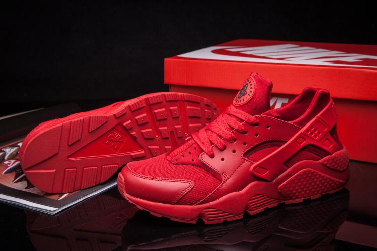 Nike Huarache Noir Et Rose